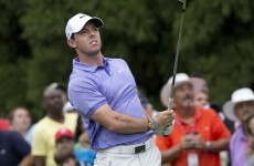 As things stand, Rory McIlroy won't be $10 million richer tonight
