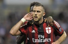 Jeremy Menez turns on the after-burners for the weirdest goal of the weekend