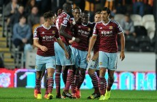 Hull and Hammers share the spoils after Valencia's wondergoal