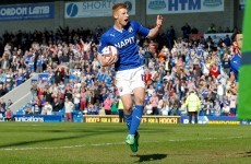 Eoin Doyle is English football's top scorer after bagging second hat-trick in two games