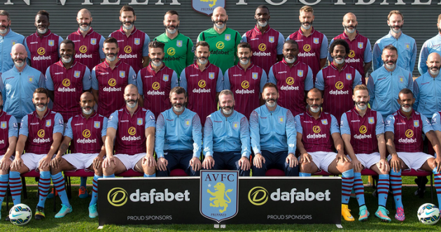 Aston Villa squad gets Roy Keane beard treatment in magnificent team photo