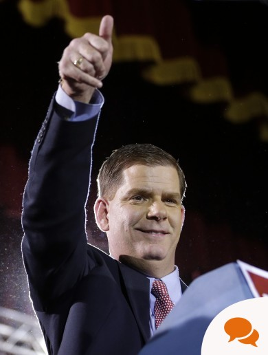 Column: Boston Mayor's 'homecoming' is mutually beneficial for both sides of the Atlantic
