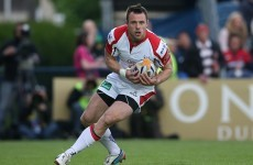 Tommy Bowe on the wing for Ulster as Jackson takes over at 10