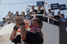 Gaza flotilla banned from leaving Greek ports