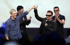 """Bono hits back at the """"haters"""" after Apple criticism"""