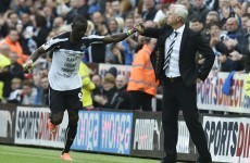 Supersub Cisse spares Pardew, Wanyama downs 10-man Swansea