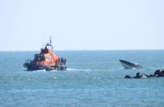 Arklow RNLI rescue 3 people from sinking powerboat