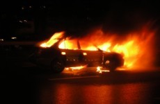 Arsonist sought after six cars set on fire over the weekend