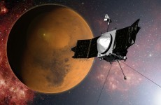 After hitting the brakes from 10,000 mph, Nasa's newest Mars orbiter is circling the red planet