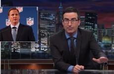 VIDEO: John Oliver brilliantly rips into NFL Commissioner Roger Goodell