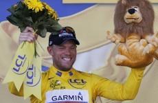 Hushovd makes Tour history for Garmin-Cervelo