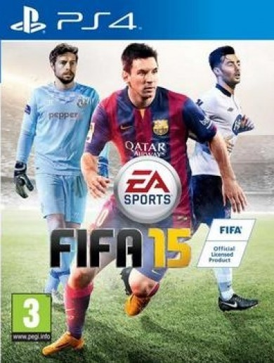 Barry Murphy and Richie Towell are alongside Messi on the new FIFA 15 cover