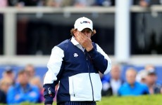 McIlroy and Mr Ryder Cup pair up as Mickelson rested