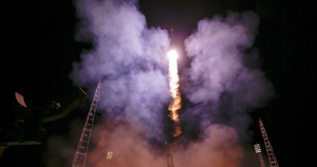 New crew blast off to International Space Station