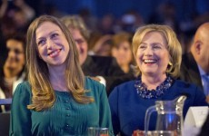 Grandad Bill and Granny Hillary: Chelsea Clinton gives birth to baby girl