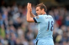 Frank Lampard just can't stop scoring for Man City