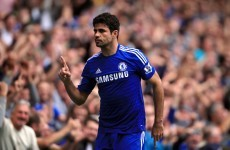 Chelsea and Costa top of the charts after seeing off Villa