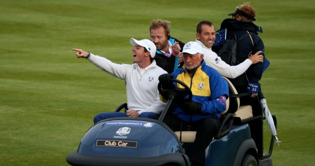 G-Mac and McIlroy help Europe into commanding lead for final day of Ryder Cup