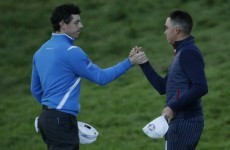 Rickie vs Rory is the highlight of tomorrow's Ryder Cup singles matches