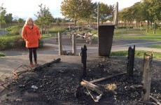 Vandals burn down children's playground in Ballymun