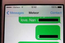 Irish granny gets iPhone, accidentally sends multiple texts to Meteor