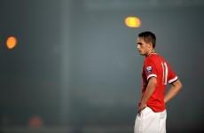 Adnan Januzaj scored a terrific free-kick tonight