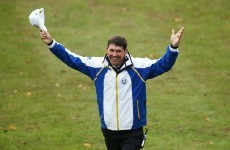 Harrington: I would love to be Ryder Cup captain in the future