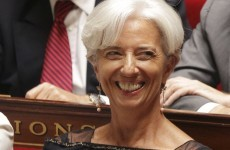 Jour 1: Lagarde takes over at the IMF