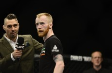 Paddy Holohan gets a change of opponent for second UFC bout