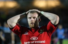 More bad news for Munster as Keith Earls is ruled out for up to four months