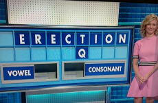 A rather embarrassing eight-letter word popped up on Countdown today