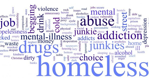 These are the words you used to describe homelessness