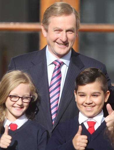 Enda Kenny meets next generation of European enthusiasts