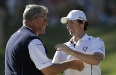 Clarke 'the perfect man' for Ryder Cup captaincy, says McIlroy
