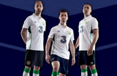 The new Ireland away kit was launched this morning