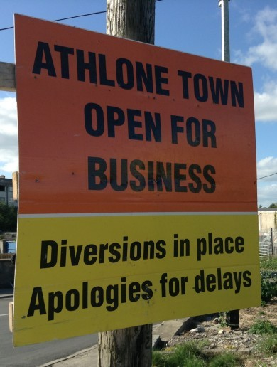 Is the recovery finally gathering pace in the Midlands? The retailers of Athlone weigh in…