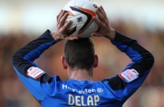 A Feyenoord player fulfilled Rory Delap's lifelong dream* last night