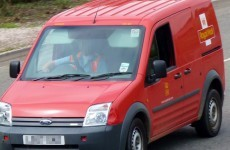 Hijacked Royal Mail van used during armed robbery in Donegal