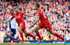 Here are all the goals from Liverpool vs West Brom