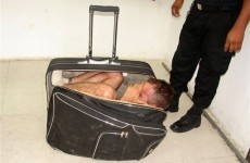 Woman tries to smuggle husband out of prison... in a bag