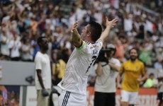 Robbie Keane does MVP bid no harm with fantastic volley