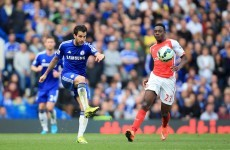 An early contender for pass of the season helped Chelsea beat Arsenal today