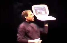 Watch what happened when Steve Jobs introduced wi-fi to people in 1999