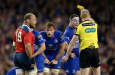 Munster's Foley joins O'Connor in questioning refereeing of Leinster clash