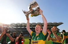 Colm Cooper - 'I didn't kick a ball all year, I wouldn't think I deserve a medal'