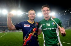 Aidan Walsh on the International Rules and why Sheehan & Shields won't be there