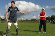 O'Mahony wants Munster progress at Thomond after shoulders pass Leinster test