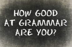 How Good At Grammar Are You?