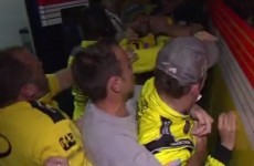 VIDEO: Rival drivers brawled at a NASCAR race in North Carolina last night
