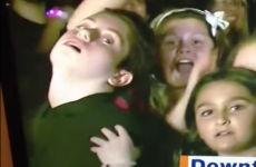 This kid hamming it up on live TV is the true definition of 'seizing the moment'